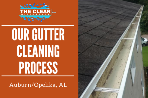 Our Gutter Cleaning Process