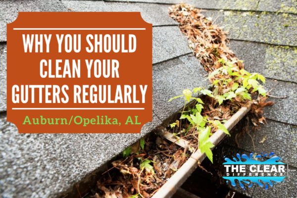 Why Gutters Need to Be Cleaned Regularly