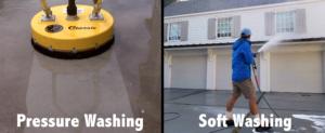 Pressure Soft Wash Compariosn