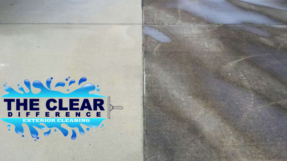 pressure cleaning driveway sidewalk patio power