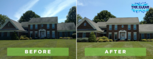 home house roof exterior cleaning business company