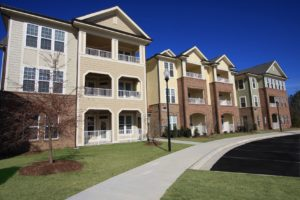commercial apartment complex property maintenance exterior