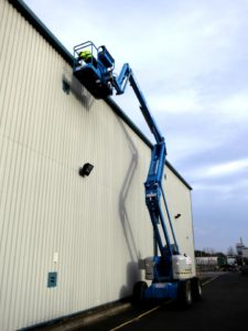 gutter cleaning commercial business property