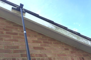 exterior soffit gutter fascia cleaning house wash