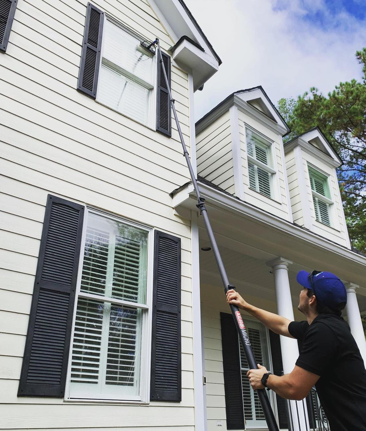 professional window cleaning inside outside high windows auburn al