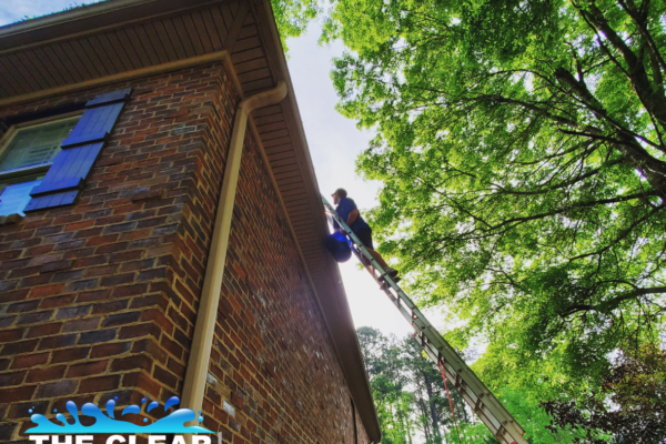 Why We ALWAYS Flush Gutters When Gutter Cleaning