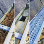 clean gutters and install guards alabama auburn opelika