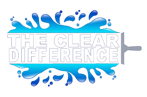 the clear difference window gutter cleaning auburn opelika logo